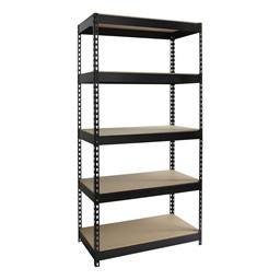 "Extra Heavy-Duty 3800LB Shelving w/ Five Shelves (72"" H x 36"" W x 18"" D)"