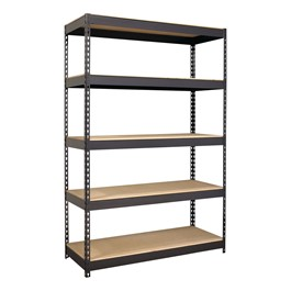 "Extra Heavy-Duty 3800LB Shelving w/ Five Shelves (72"" H x 48\"" W x18\"" D)"