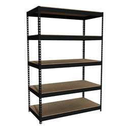 "Extra Heavy-Duty 3800LB Shelving w/ Five Shelves (72"" H x 48"" W x 24"" D)"