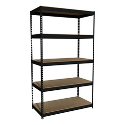 "Extra Heavy-Duty 3800LB Shelving w/ Five Shelves (84"" H x 48"" W x 24"" D)"