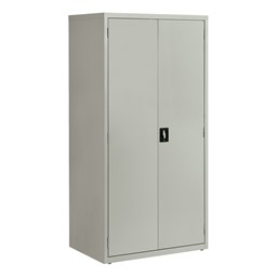 Tall Steel Storage Cabinet - Gray