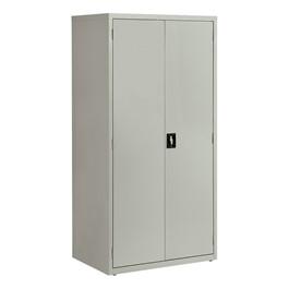 "Tall Steel Storage Cabinet (24\"" D) - Gray"