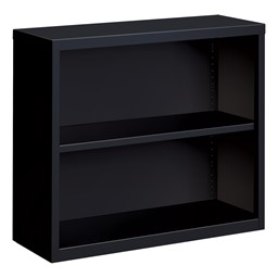 "Metal Bookcase (30"" H) - Black"