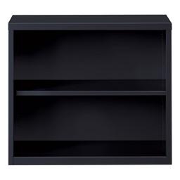 "Metal Bookcase (30"" H) - Black"