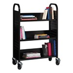 One-Sided Book Cart