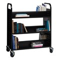 Two-Sided Book Cart