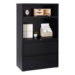 Two-Drawer Combination Lateral File