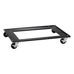 Adjustable Lateral File & Cabinet Caddy - Black