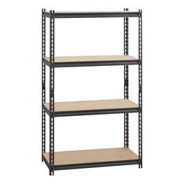 """Heavy Duty 2300LB Shelving w/ Five Shelves (72\"""" H x 36\"""" W x 18\"""" D)"""