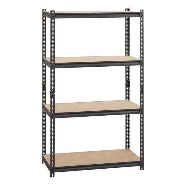 """Heavy Duty 2300LB Shelving w/ Five Shelves (72"""" H x 36"""" W x 18"""" D)"""