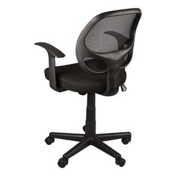 Mesh Back Task Chair w/ Tilt & Arms - Back View