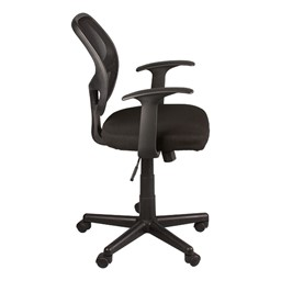 Mesh Back Task Chair w/ Tilt & Arms - Side View