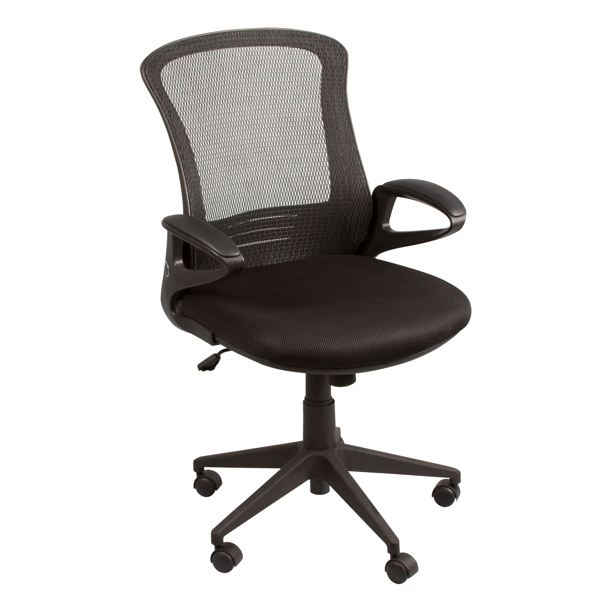 Mesh Back Office Chair W/ Foldable Seat Back