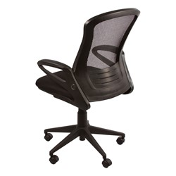 Mesh Back Office Chair W Foldable Seat