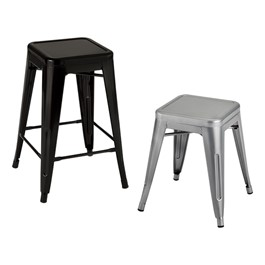 Norwood Commercial Furniture Metal Stack Stool At School