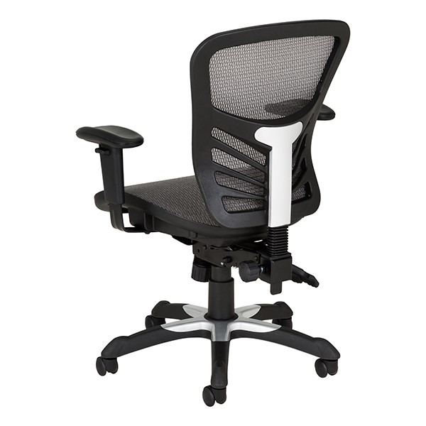 Breathable Mesh Office Chair - Back