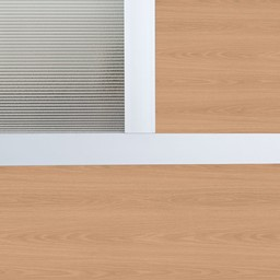 Modern Privacy Panel w/ Colored & Translucent Infill Panels
