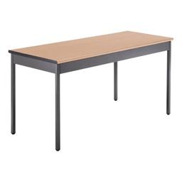 "Heavy-Duty Utility Table w/ Scratch-Resistant Paint (24"" W x 60"" L) - Maple"