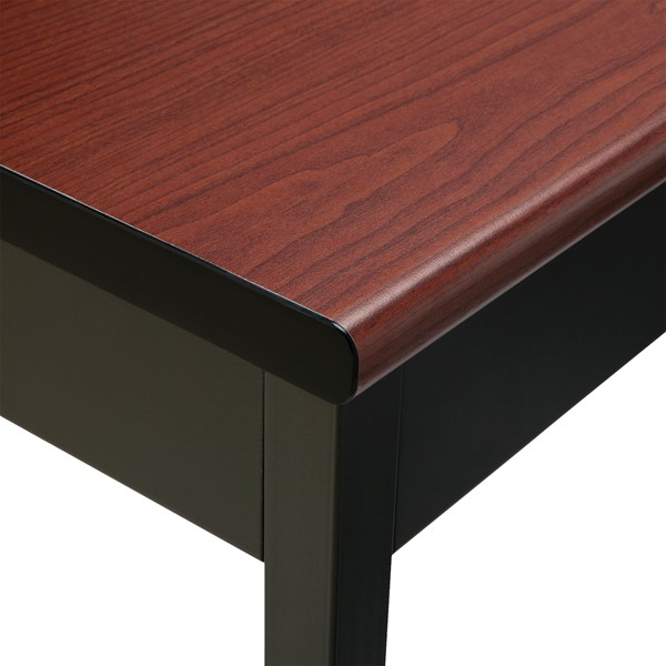 Heavy-Duty Utility Table w/ Scratch-Resistant Paint - Bullnose Edge