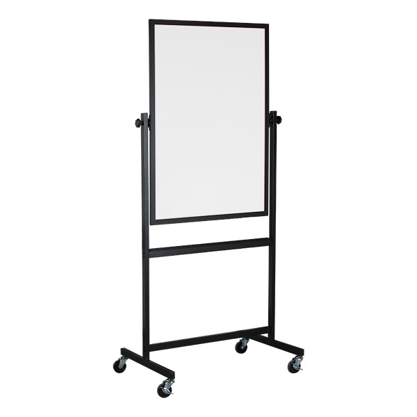 Double-Sided Magnetic Whiteboard Easel