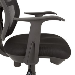 Mesh Back & Seat Task Chair - Arms