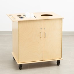 Premium Sanitation Station w/ HPL Top