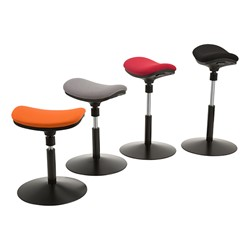 Remarkable Sit To Stand Active Stool W Pivot Saddle Seat Onthecornerstone Fun Painted Chair Ideas Images Onthecornerstoneorg