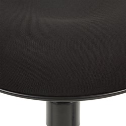 Sit-to-Stand Active Stool w/ Pivot Round Seat - Seat - Detail - Black