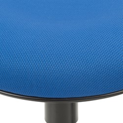 Sit-to-Stand Active Stool w/ Pivot Round Seat - Seat - Detail - Blue
