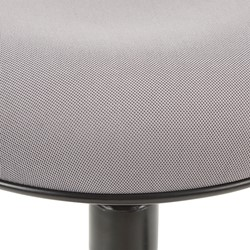 Sit-to-Stand Active Stool w/ Pivot Round Seat - Seat - Detail - Gray