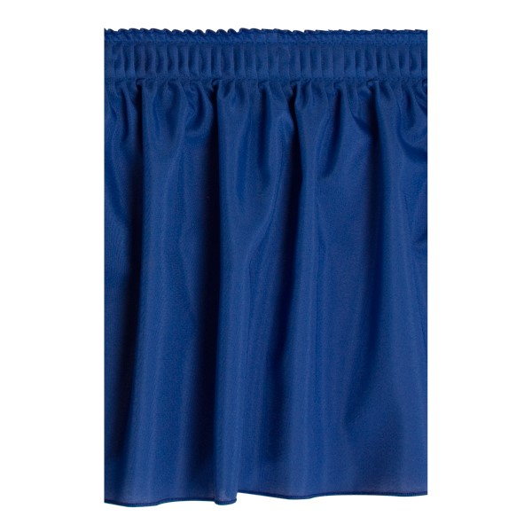 Shirred Pleat Stage Skirting - Royal Blue