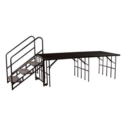 Stage & Riser Steps - Stage not included