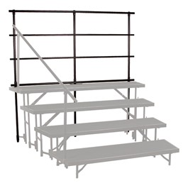 Tapered Riser Guardrail - Risers not included