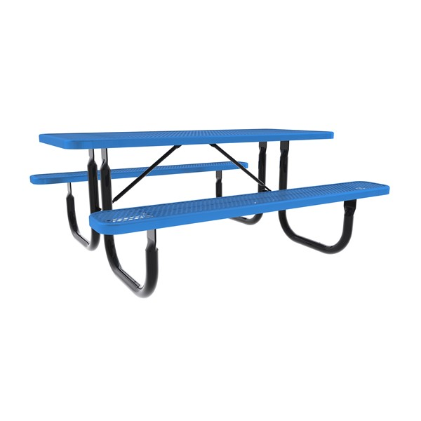 Rectangle Picnic Table-Dhown cn Furniture\Nor-Nw101-D6-Blue