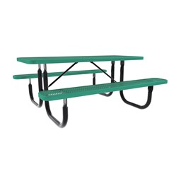 Rectangle Picnic Table-Dhown cn Furniture\Nor-Nw101-D6-Green