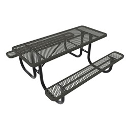 Rectangle Picnic Table-Phown cn Furniture\Nor-Nw101-P8-Black