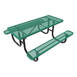 Rectangle Picnic Table-Phown cn Furniture\Nor-Nw101-P8-Green