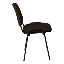 Fabric Stacking Guest Chair - Side view