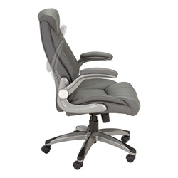 Executive Chair W Flip Up Arms