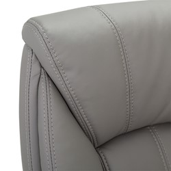 Executive Chair w/ Flip-Up Arms - Stitching