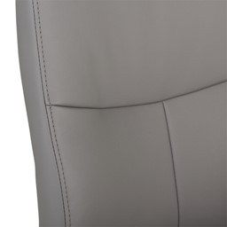Ergonomic Multi-Adjustable Executive Chair - Gray - Stitching