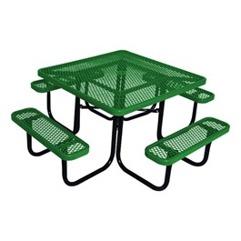 Norwood Commercial Furniture Square Picnic Table At School
