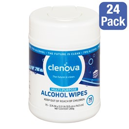 Multi-Purpose Wipes - Pack of 24 Canisters