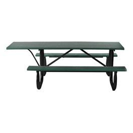 ADA Recycled Plastic Picnic Table