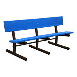 Recycled Plastic Bench - Portable
