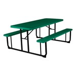 Blow Molded Plastic Picnic Table - Green