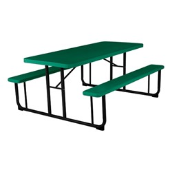 Awesome Blow Molded Plastic Picnic Table Green Squirreltailoven Fun Painted Chair Ideas Images Squirreltailovenorg