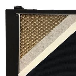 6' H Whiteboard Tackable Portable Partition - Core