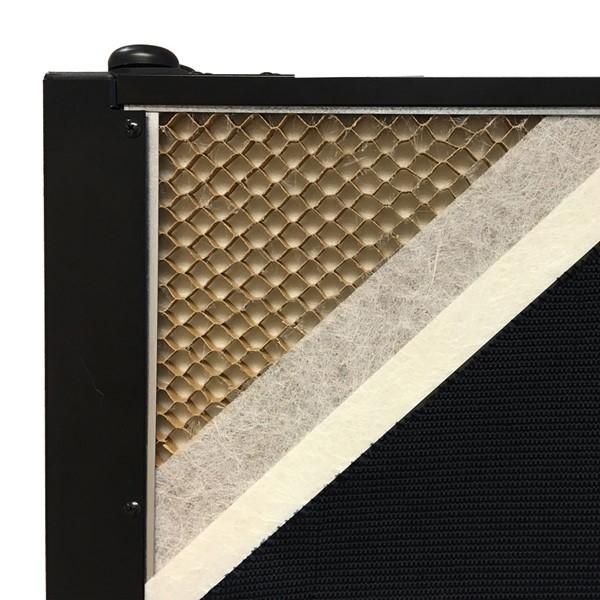 6' H Whiteboard Tackable Portable Partition - Panel core