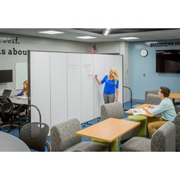 6' H Whiteboard Tackable Portable Partition